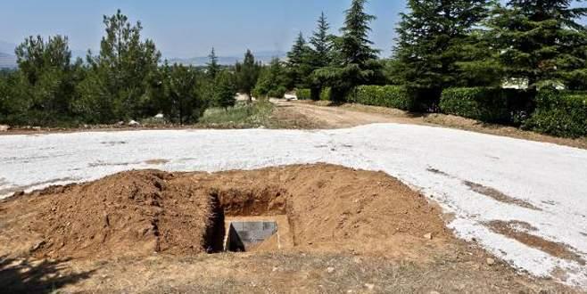 Demirel'in toprağa verileceği İslamköy'de tören hazırlığı