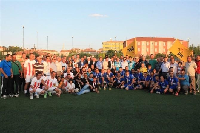 Karaman'da Kurumlararası Futbol Turnuvası Sona Erdi