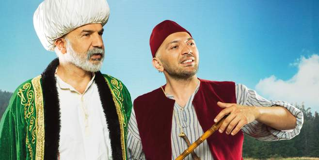 Nasreddin Hoca Keloğlan'a karşı