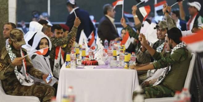 Şii milislere toplu nikah töreni