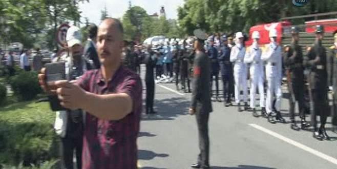 Süleyman Demirel'le son selfie