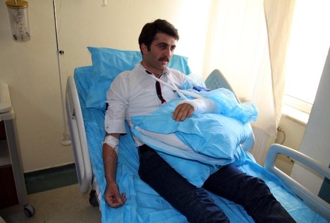 Hastanede Başhekim İle Doktor Kavgası
