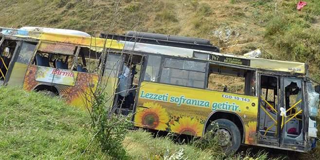 Feci kaza: 2 ölü 27 yaralı