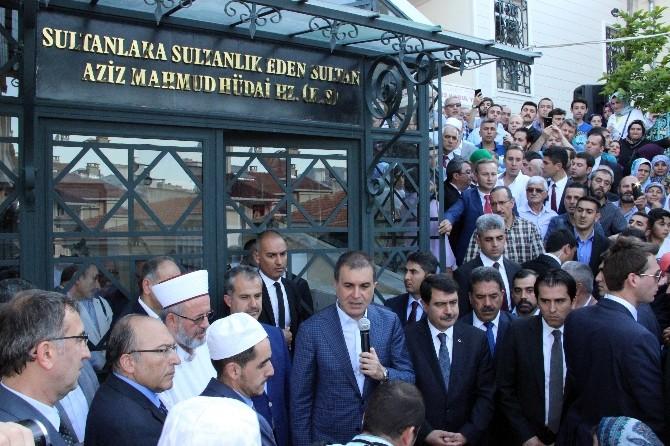Aziz Mahmut Hüdayi Hazretleri'nin Türbesi Ziyarete Açıldı
