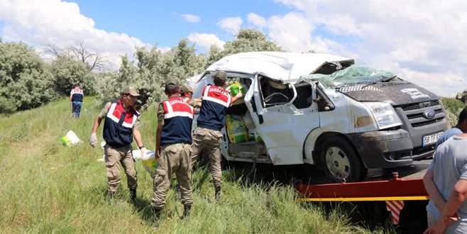 Feci kazada aynı aileden 3 kişi öldü!