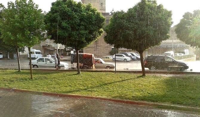 Nizip'te Yağmur