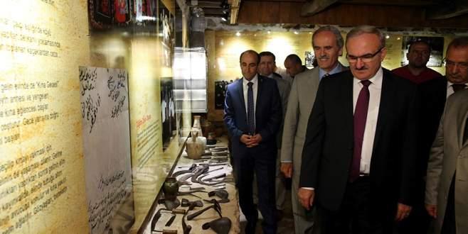 Cumalıkızık Müzesi yenilenen yüzüyle ziyarete açıldı