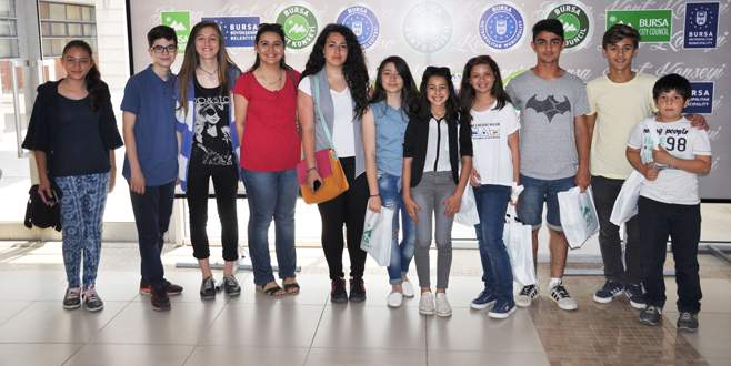 İznikli çocuklardan BKK'ya ziyaret