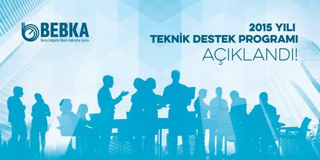 BEBKA 2015 yılı teknik destek programını başlattı