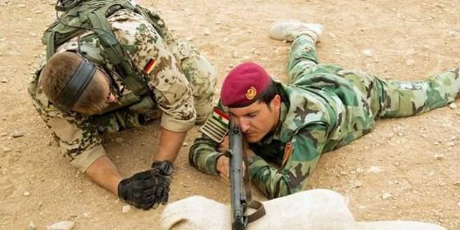 Almanya'dan Ezidilere askeri eğitim