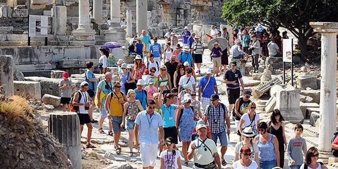 Türkiye 2014'te 39,8 milyon turist ağırladı