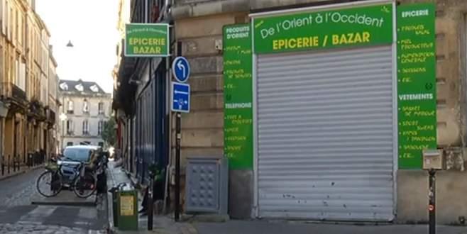 Fransa'da haremlik selamlık mağaza
