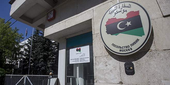 Libya'nın Moskova Büyükelçiliği'nde 'darbe'