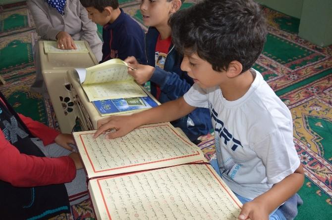 Yaz Kur'an Kursları Kırka'da Büyük İlgi Görüyor