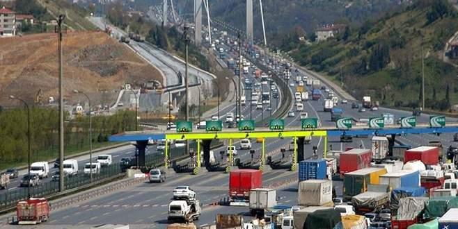 Köprü ve otoyollardan 356 milyon lira gelir