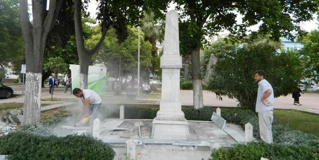 Şükrü Çavuş Anıtı yenileniyor