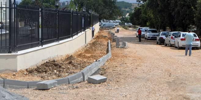 Mudanya'da tretuvar çalışmaları hızlandırıldı