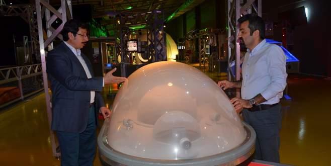 Bursalılar BTM'de Mars'a uçuyor