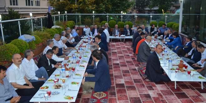 AK Parti Bursa Teşkilatı'nda birlik beraberlik iftarı