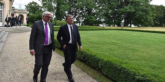 Abdullah Gül Almanya'da