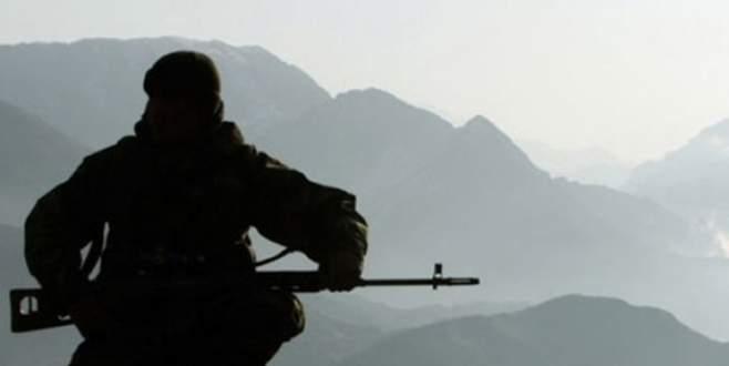 Asker, nöbet sırasında intihar etti