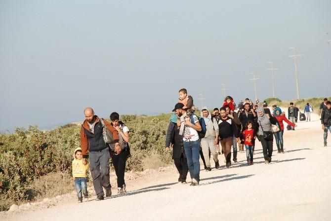 Didim'de 80 Suriyeli Göçmenin Kaçışına Sahil Güvenlik İzin Vermedi