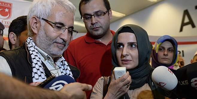Türk gazeteciler İstanbul'a geldi