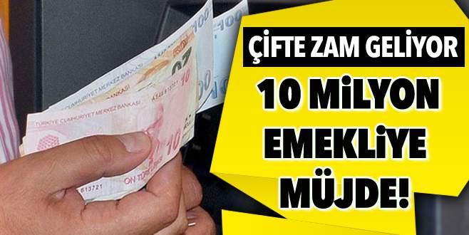 10 milyon emekliye müjde!