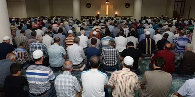 Demirtaş Camii ibadete açıldı