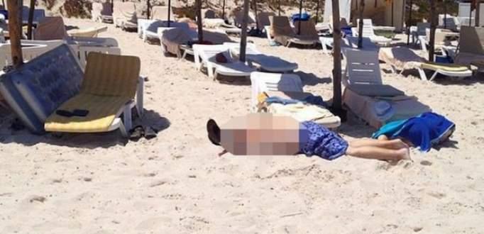 Tunus'ta otele saldırı! 37 ölü