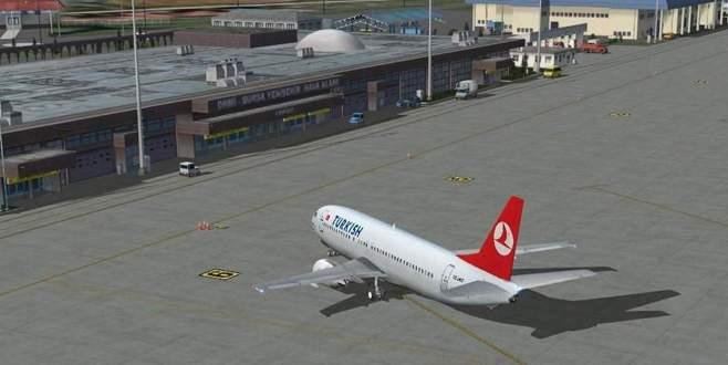 Bursa, havaalanına sahip çıktı
