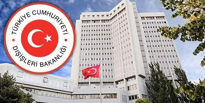 Dışişleri Bakanlığı terör saldırılarını kınadı