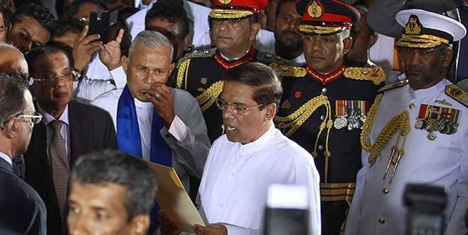 Sri Lanka parlamentosu feshedildi