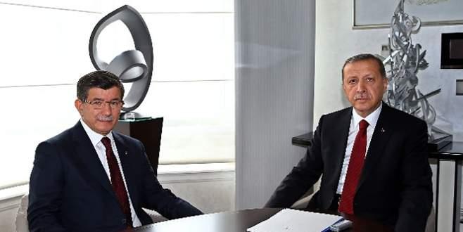 Erdoğan, Davutoğlu'nu kabul etti