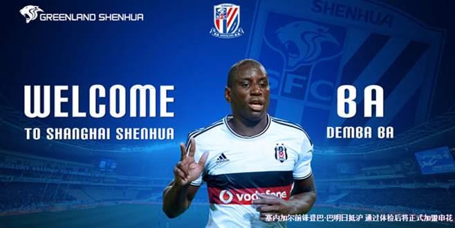 Shanghai Shenhua, Demba Ba transferini duyurdu
