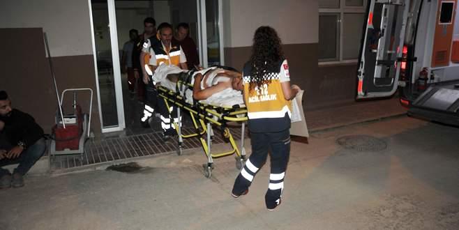 Bursa'da bıçaklı kavga!