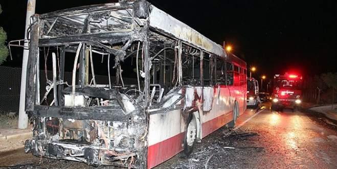İzmir'de belediye otobüsü kundaklandı