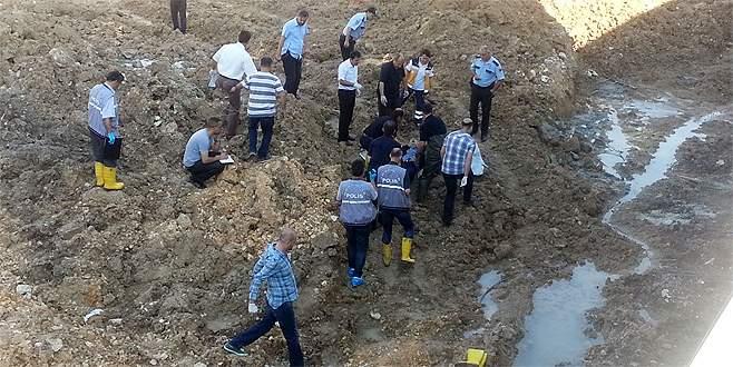 Bursa'da inşaat alanında ölüm