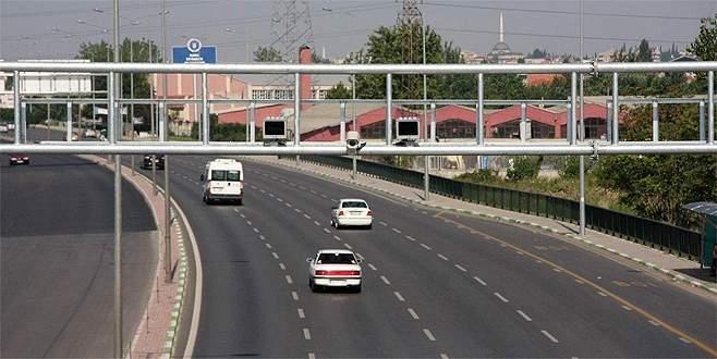 Bursa'da hız sınırına düzenleme