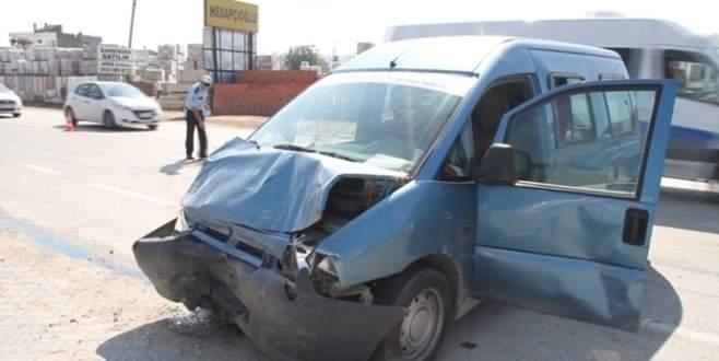 Bursa'daki korkunç kaza kameralarda!