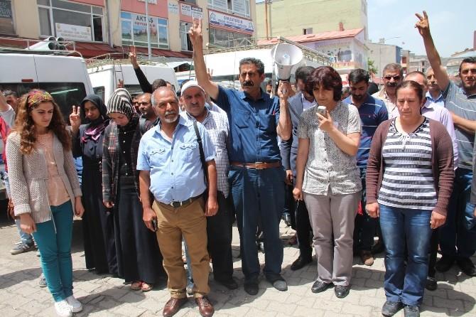 Kars'ta HDP, DBP Ve Ka-yöder'in Kobani Açıklaması