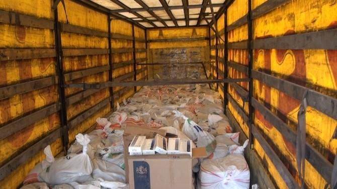 Kars'ta 100 Bin Paket Kaçak Sigara Ele Geçirildi
