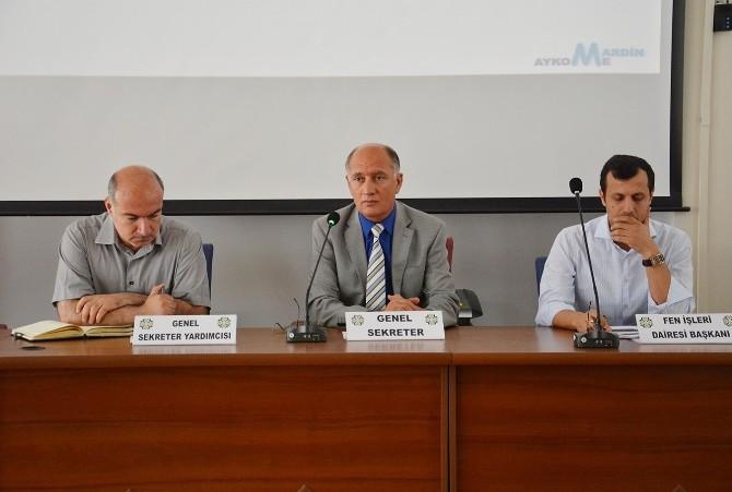 Mardin'de Aykome Toplantısını