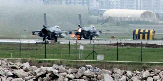 TSK teyakkuzda! Diyarbakır'a savaş uçağı takviyesi