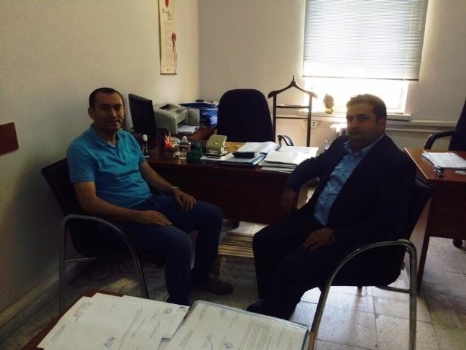 Genç ERSİAD Başkanı Kurt'tan Vho'ya Ziyaret