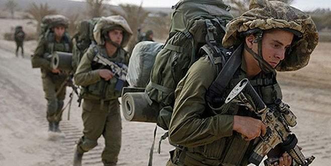 İsrail ordusundan sınıra yığınak