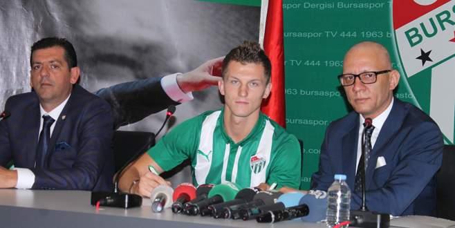 Tomas Necid'den Bursaspor'a 4 yıllık imza