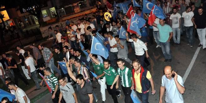 Teksas, Doğu Türkistan için yürüdü