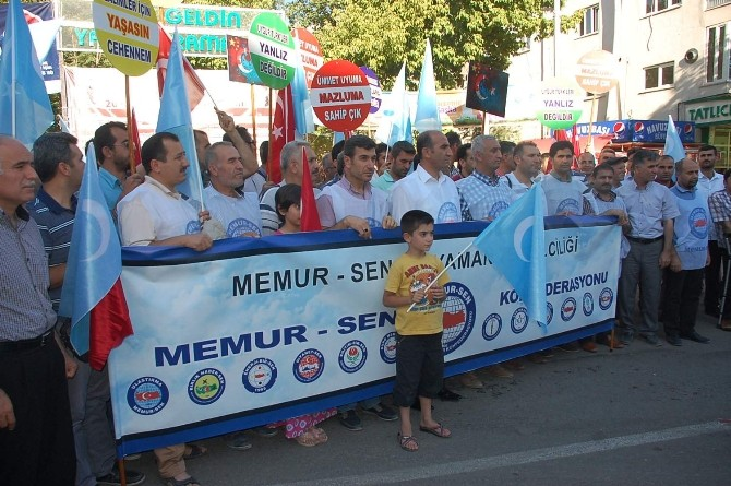 Memur-Sen'den, Doğu Türkistan Açıklaması