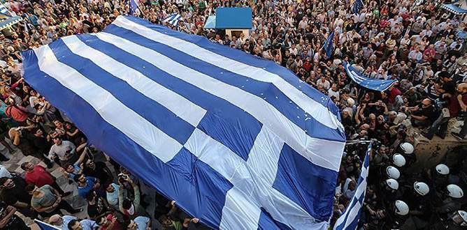 Yunanistan'da referandum için 'hayır' çağrısı